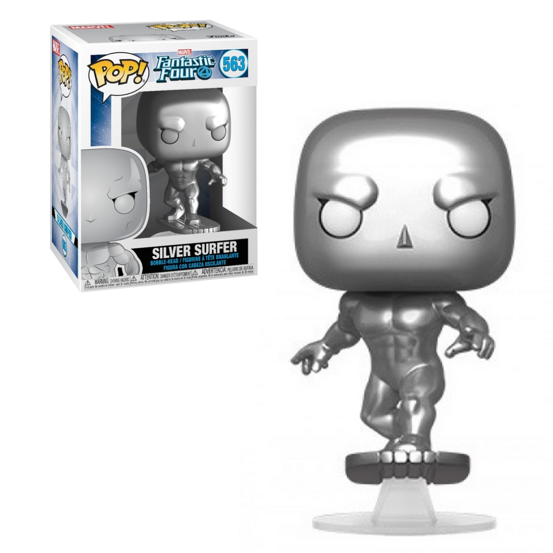 Funko Pop Vinyl Figurine The Silver Surfer #563 - Marvel The Fantastic Four