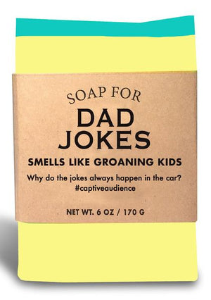 Soap for Dad Jokes ~ Smells Like Groaning Kids
