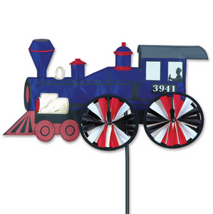 Steam Engine Train Wind Spinner