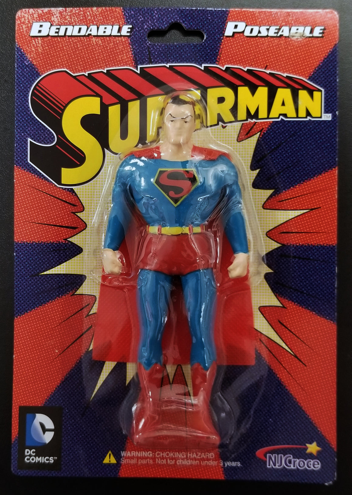 Classic Superman Bendable Figure
