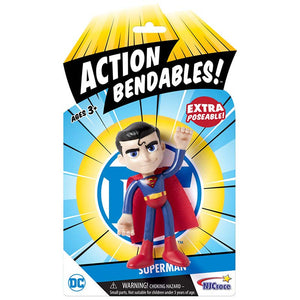 Superman Action Bendable Figure