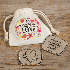 A Token of Love - Token & Bag Gift Set