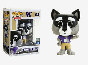 Funko Pop Vinyl Figurine UW Harry the Husky College Mascot