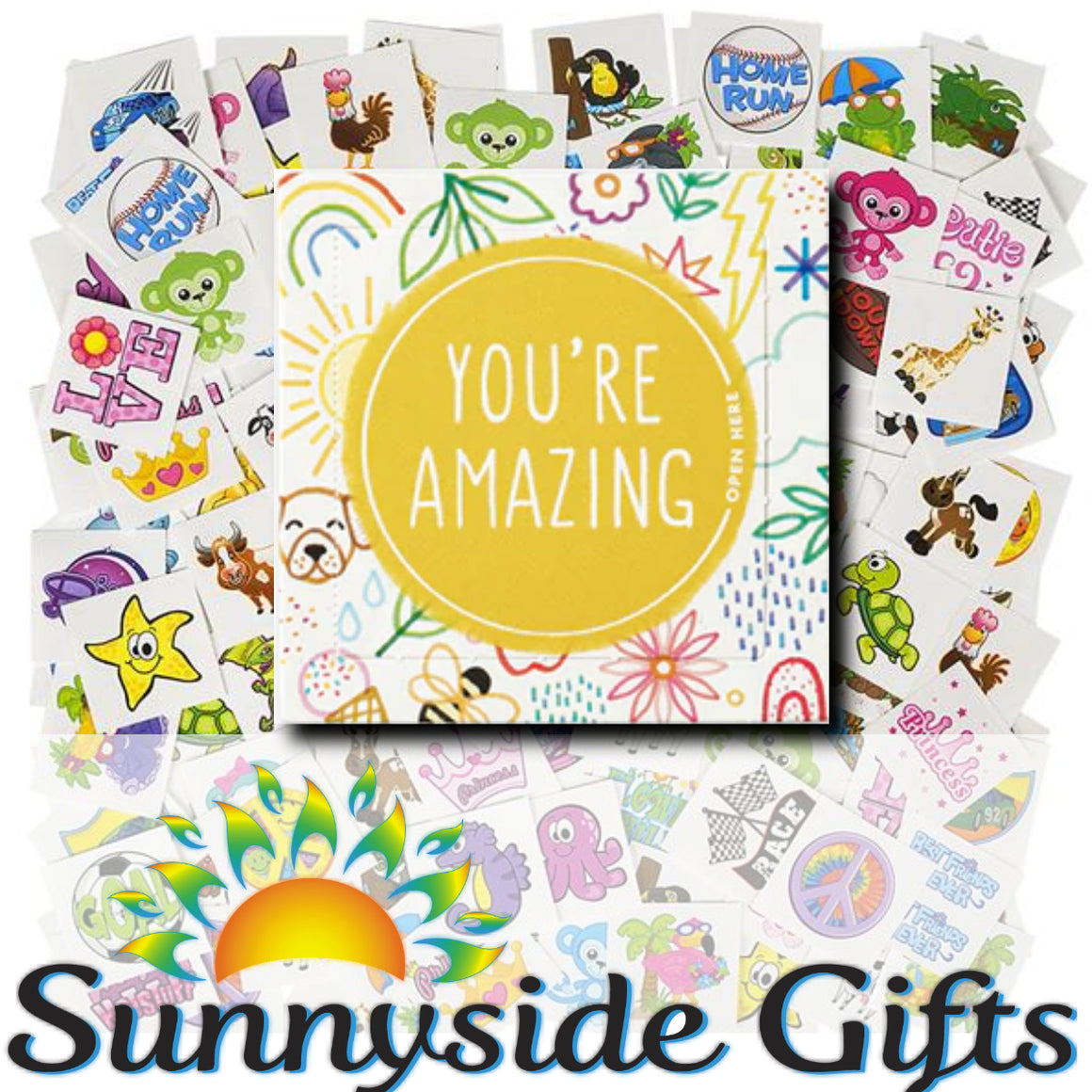 """You're Amazing!"" Happy Day Surprise Smiles for Kids (FREE shipping)"