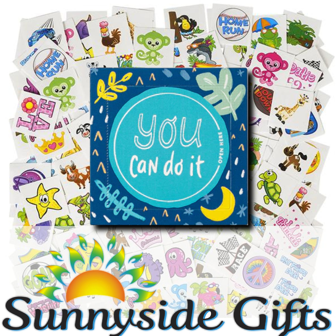 """You Can Do It!"" Happy Day Encouragement Surprise Smiles for Kids (FREE shipping)"