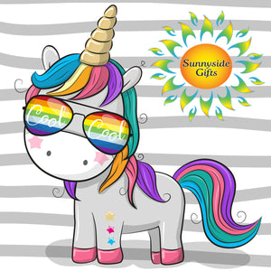 Unicorns! Unicorns! Unicorns! Temporary Tattoos Happy Day Surprise (FREE shipping*)