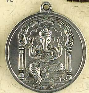 Ganesh, Remover of Obstacles ~ Pewter Necklace ~ Veda, The Vedic Collection