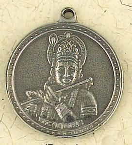 Krishna, Voice of the Bhagvad Gita ~ Pewter Necklace ~ Veda, The Vedic Collection