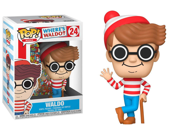 Funko Pop Vinyl Figurine Waldo #24 - Where's Waldo