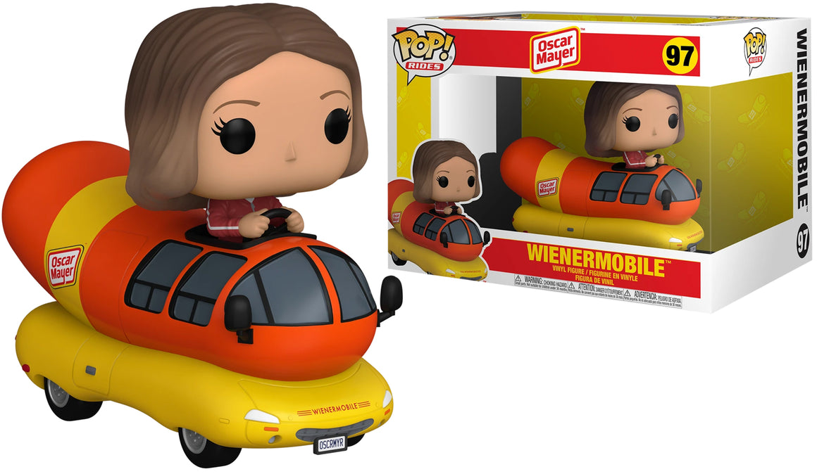 Funko Pop Vinyl Figurine Ride Oscar Meyer Weinermobile #97