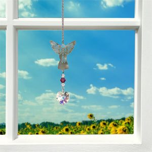 February ~ Birthstone Angel Crystal Suncatcher