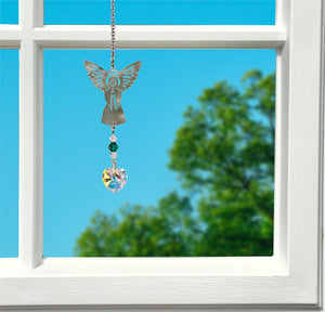 May ~ Birthstone Angel Crystal Suncatcher