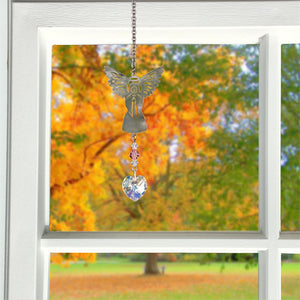 October ~ Birthstone Angel Crystal Suncatcher