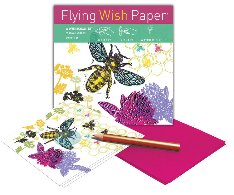 Just BEE Mini Flying Wish Paper Kit