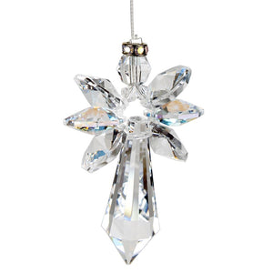 Aurora Borealis ~ Crystal Guardian Angel Suncatcher