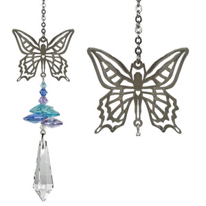 Butterfly ~ Crystal Fantasy Suncatcher