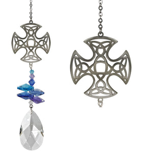 Celtic ~ Crystal Fantasy Suncatcher