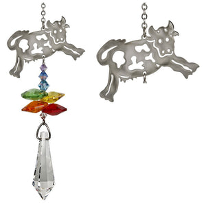 Cow ~ Crystal Fantasy Suncatcher
