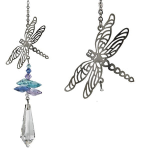 Dragonfly ~ Crystal Fantasy Suncatcher