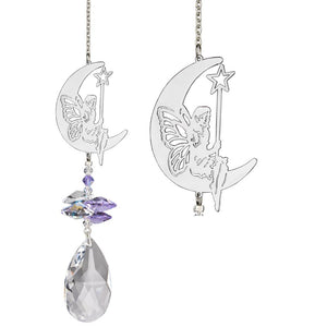 Moon Fairy ~ Crystal Fantasy Suncatcher