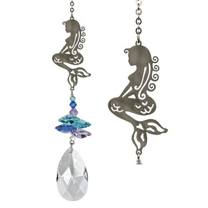 Mermaid ~ Crystal Fantasy Suncatcher