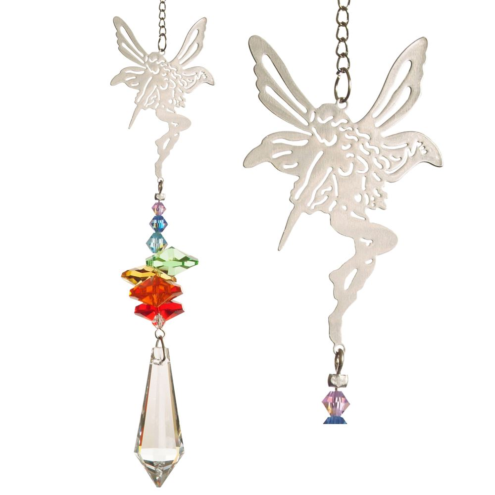 Rainbow Fairy ~ Crystal Fantasy Suncatcher