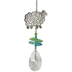 Sheep ~ Crystal Fantasy Suncatcher