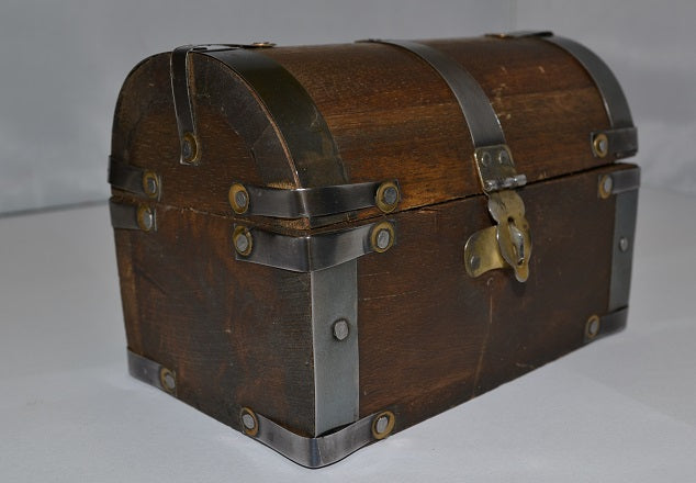 Antique Old World Treasure Chest