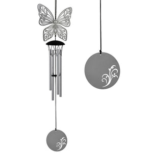 Butterfly Flourish Wind Chime ~ Woodstock Wind Chimes