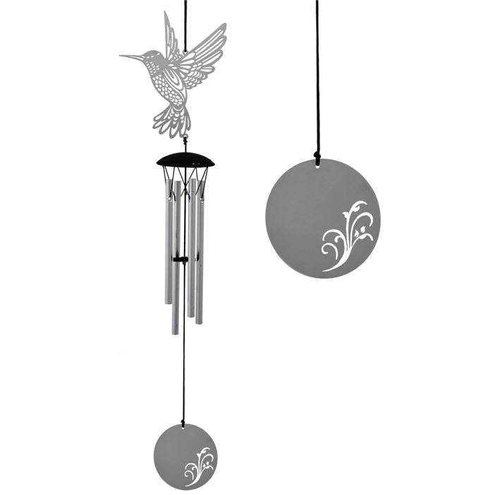 Hummingbird Flourish Wind Chime ~ Woodstock Wind Chimes