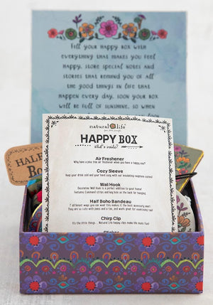 Let Shit Go Happy Box