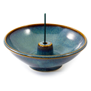 Hazel Ceramic Round Incense Holder