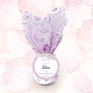 Lilac Bath Chill Pill ~ Moisturizing Bath Fizzies
