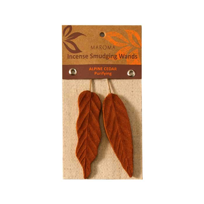 Smudging Leaf Incense - Alpine Cedar