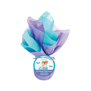 Mermaid Adventure Chill Pill ~ Color-Changing Bath Fizzies