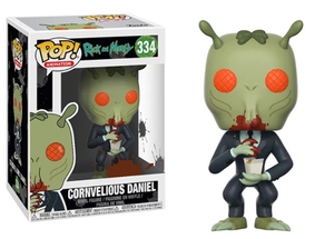 Funko Pop Vinyl Figurine Cornvelious Daniel w/Sauce 334 - Rick and Morty