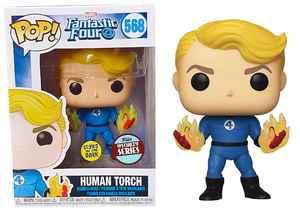 Funko Pop Vinyl Figurine Human Torch (Suited) Specialty Series 568 - Fantastic Four
