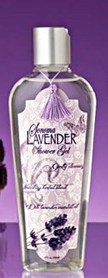 Lavender Shower Gel ~ Sonoma Lavender Luxury Spa Gifts