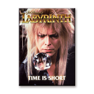 Time Is Short Labyrinth Flat Magnet