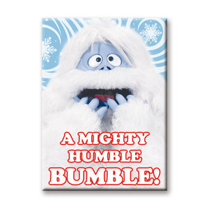 A Mighty Humble Bumble Rudolph The Red-Nosed Reindeer Flat Magnet
