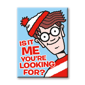 Is It Me You're Looking For? Waldo Flat Magnet