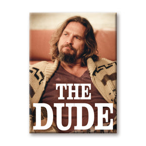 The Dude The Big Lebowski Flat Magnet
