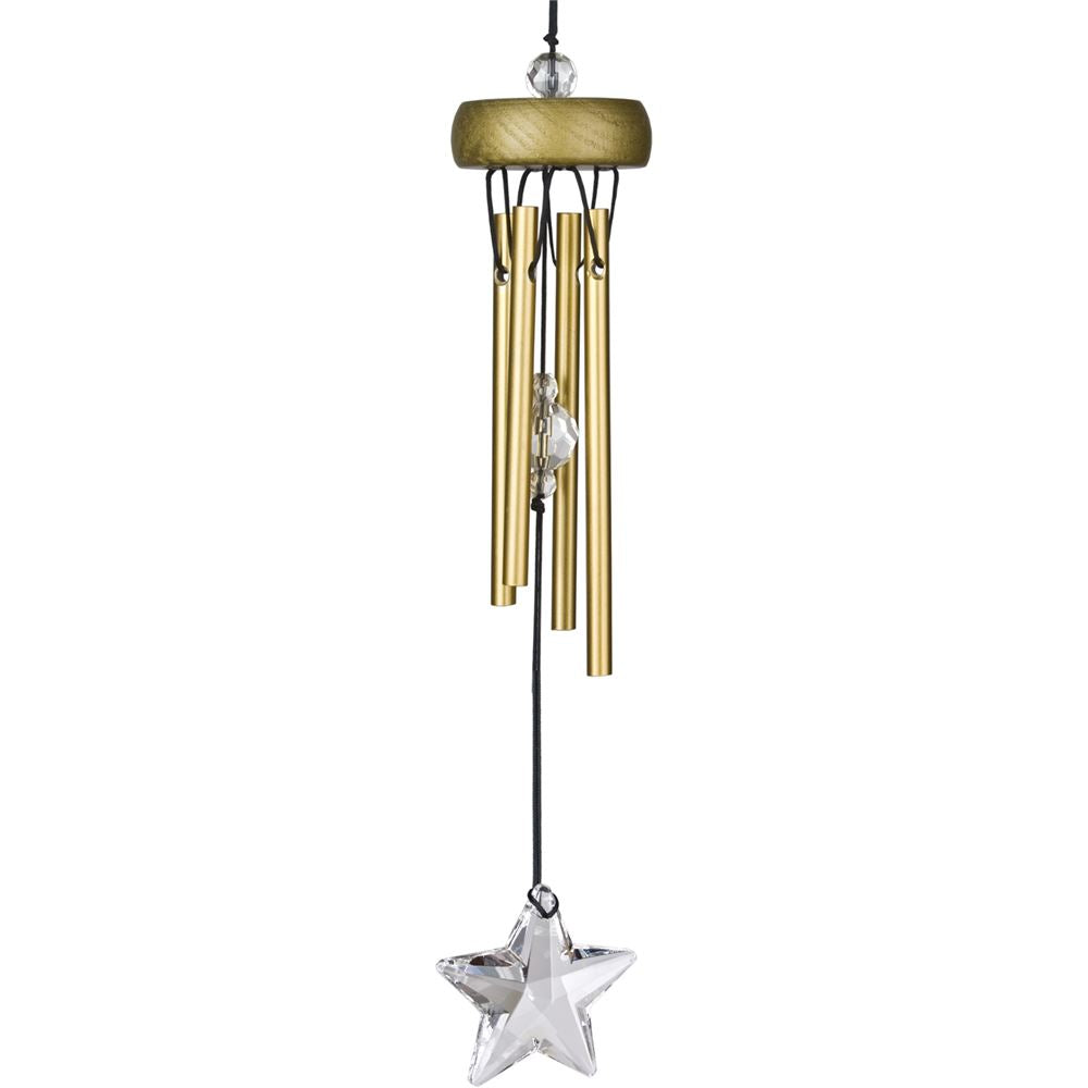 Gold Starlight Wind Chime ~ Woodstock Wind Chimes