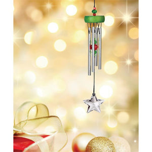 Green Starlight Wind Chime ~ Woodstock Wind Chimes
