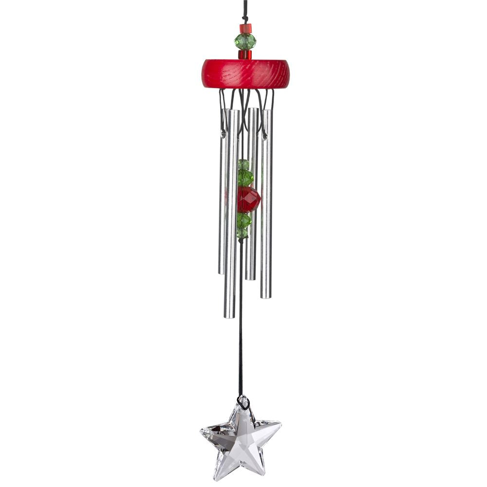 Red Starlight Wind Chime ~ Woodstock Wind Chimes