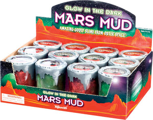Glow in the Dark Mars Mud ~ Gooey Putty! Out of this world Fun!