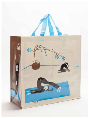 Yoga Reusable Shopper Tote ~ Shopping Bag