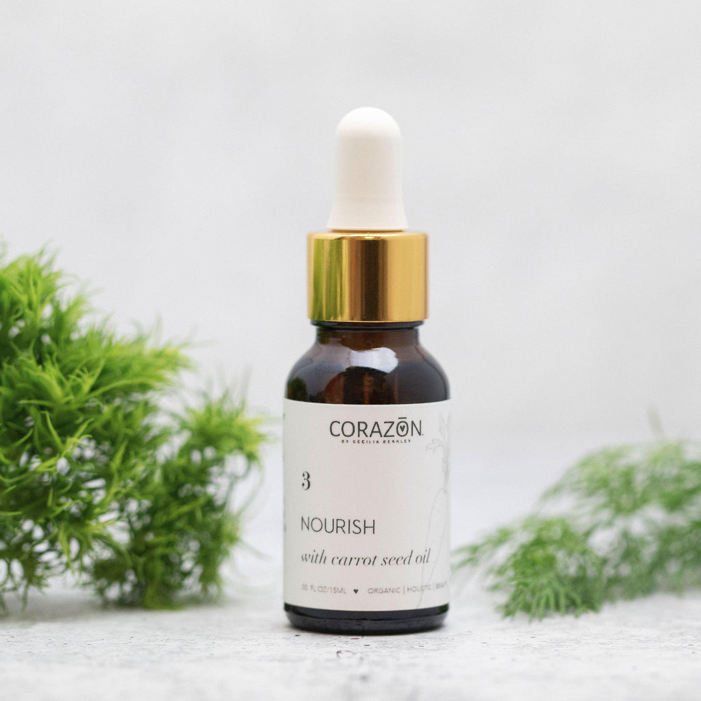 NOURISH with Carrot Seed Oil