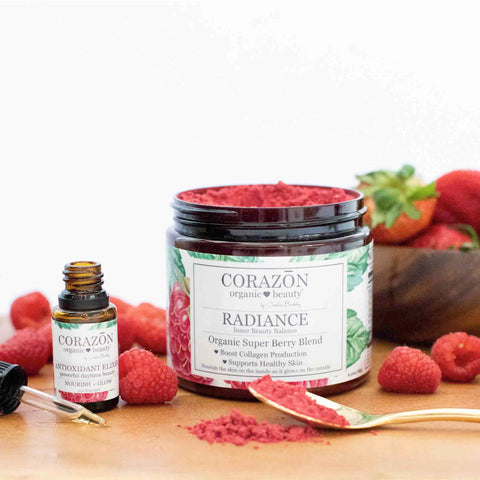 Holistic Raspberry Beauty & Wellness Essentials