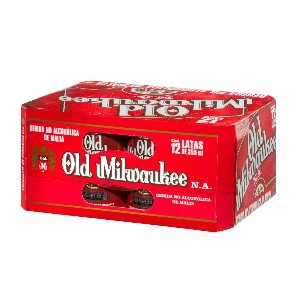 Cerveza sin Alcohol Old Milwaukee Clara 12P/355M - ZK